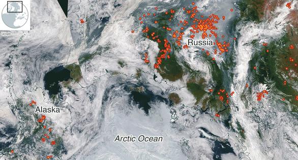 Sau Amazon, thảm họa cháy rừng lan tới... Bắc Cực - Ảnh 2.