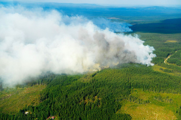 Sau Amazon, thảm họa cháy rừng lan tới... Bắc Cực - Ảnh 4.