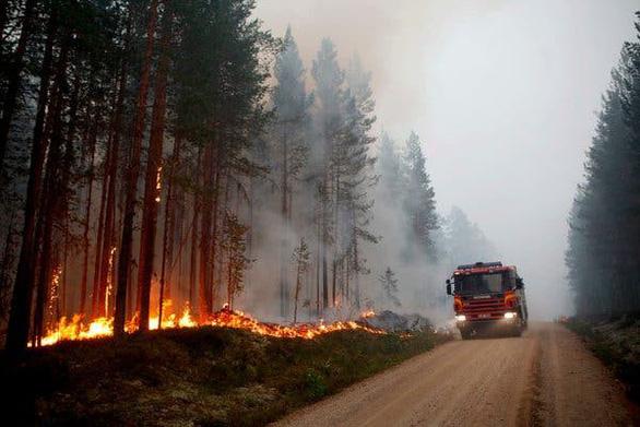 Sau Amazon, thảm họa cháy rừng lan tới... Bắc Cực - Ảnh 1.