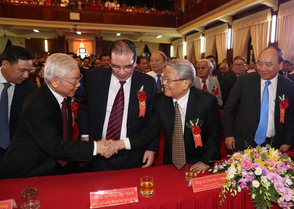 Tổng bí thư, Chủ tịch nước dự lễ kỷ niệm 70 năm Học viện Chính trị quốc gia Hồ Chí Minh - Ảnh 2.