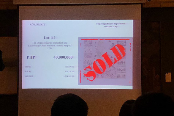 Trong 4 phút, bản đồ chủ quyền Philippines được bán đứt - Ảnh 1.