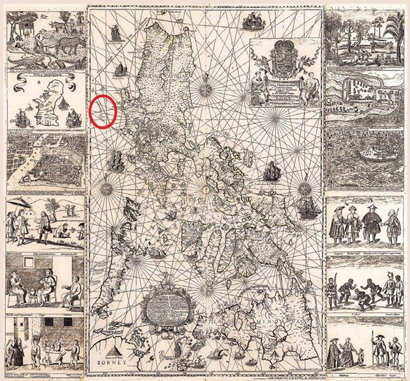 Trong 4 phút, bản đồ chủ quyền Philippines được bán đứt - Ảnh 2.