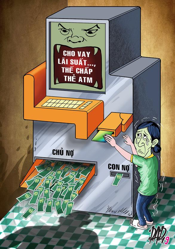 Công nhân thế chấp thẻ ATM bị chủ nợ vào luôn công ty quậy - Ảnh 1.