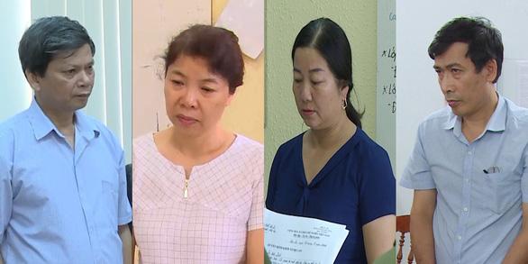 Chân dung 8 bị cáo vụ gian lận thi cử ở Sơn La - Ảnh 2.