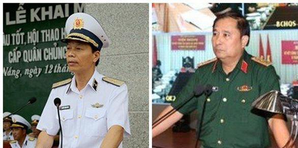 Thủ tướng bổ nhiệm hai phó tổng tham mưu trưởng quân đội - Ảnh 1.