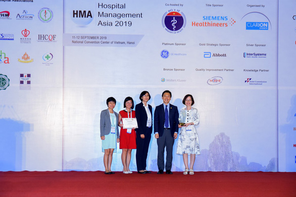 Vinmec được vinh danh là Bệnh viện tiến bộ nhất - Ảnh 2.