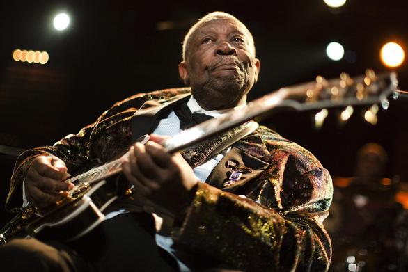 Hôm nay, B.B.King ông hoàng nhạc blues được Google vinh danh - Ảnh 1.