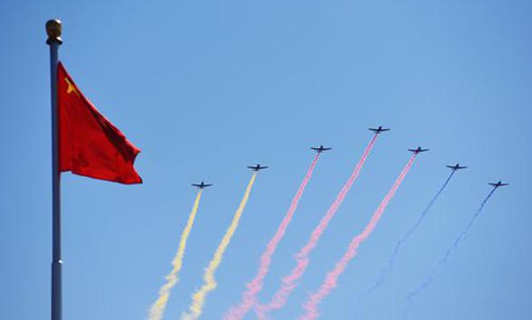 Trung Quốc đảm bảo vùng trời sạch cho diễn tập diễu binh kỷ niệm Quốc khánh - Ảnh 1.