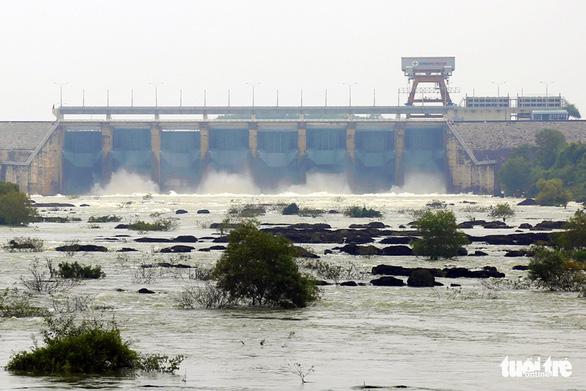 Ngay mai thủy điện Trị An xả nước điều tiết xuống hạ du - Ảnh 1.