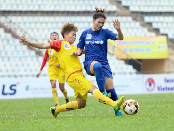 Sơn La giành chiến thắng lịch sử ở Giải bóng đá nữ VĐQG 2019 - Ảnh 1.