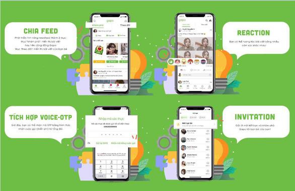 Mạng xã hội Gapo cán mốc 2 triệu người dùng - Ảnh 2.