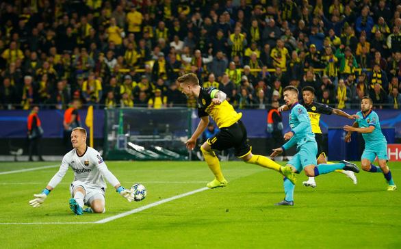 Thủ thành Stegen tỏa sáng, Barca 'thoát chết' trước Dortmund - Ảnh 1.