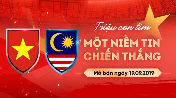 Mỗi người chỉ được mua 4 vé trận Việt Nam - Malaysia ở vòng loại World Cup - Ảnh 1.
