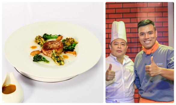 Hoàng Vương là thí sinh đầu tiên cuốn dao rời Top chef Vietnam 2019 - Ảnh 3.