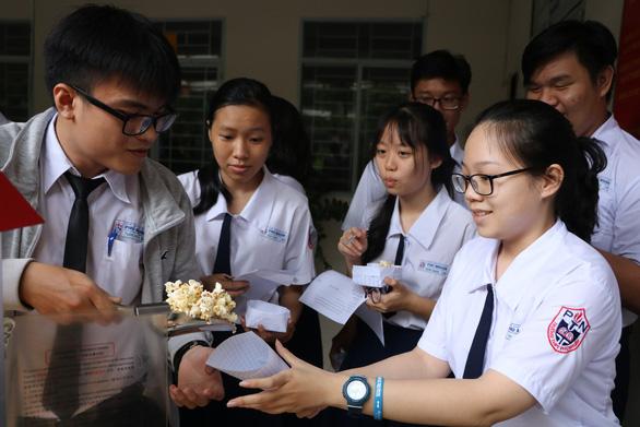 Học sinh làm bắp rang bơ để... học hóa - Ảnh 6.