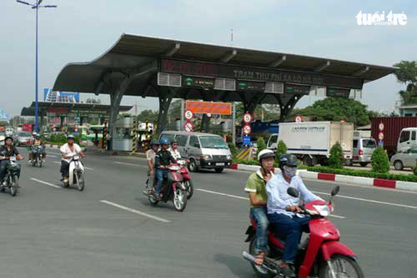 Trạm BOT xa lộ Hà Nội sắp thu phí trở lại - Ảnh 1.