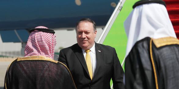 Ngoại trưởng Pompeo bay tới Saudi Arabia bàn kế trả đũa Iran - Ảnh 1.