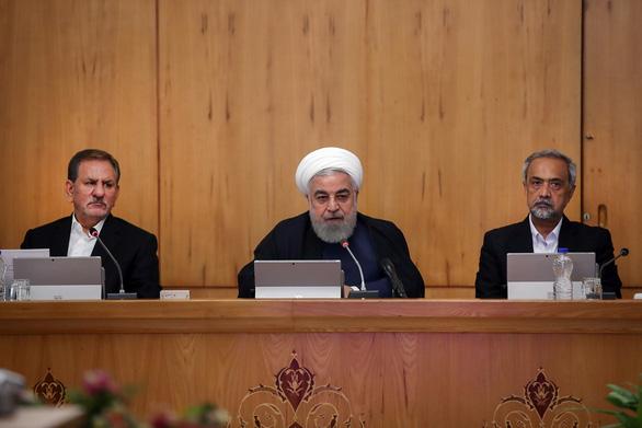 Ông Trump thông báo dập Iran bằng trừng phạt thêm - Ảnh 1.
