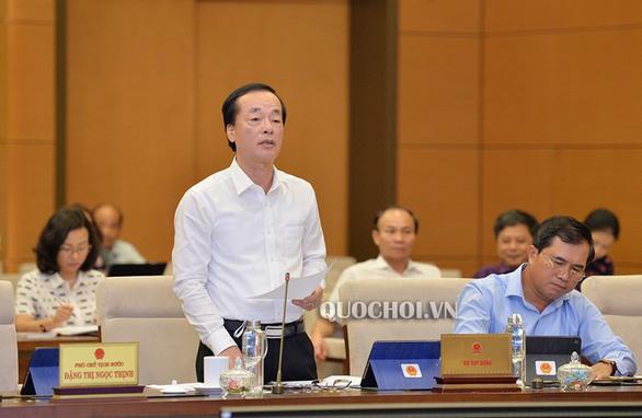 Bộ trưởng Phạm Hồng Hà: Pháp luật không quy định phạt cho tồn tại nữa - Ảnh 1.