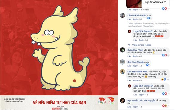 Chú rồng PikaLong dự thi biểu tượng vui cho SEA Games 2021 tại Việt Nam - Ảnh 1.