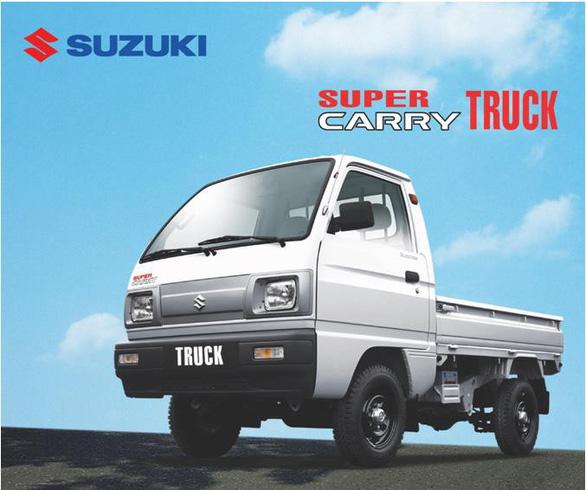 Xe tải nhẹ Suzuki Carry - lựa chọn hàng đầu cho vận chuyển lộ trình ngắn - Ảnh 2.