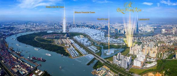 Paris Hoàng Kim - dấu ấn mới trong Khu đô thị Thủ Thiêm - Ảnh 1.