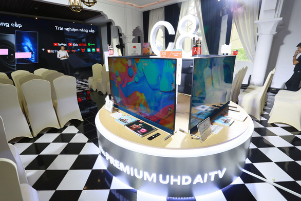 TCL ra mắt tivi Premium UHD AI C8 với công nghệ AI - Ảnh 2.