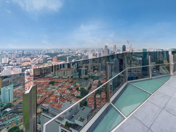 Bên trong tòa nhà cao nhất Singapore có bể bơi vô cực nhìn toàn cảnh thành phố - Ảnh 16.