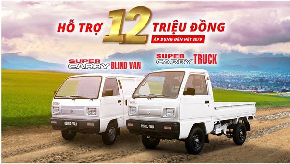 Xe tải nhẹ Suzuki Carry - lựa chọn hàng đầu cho vận chuyển lộ trình ngắn - Ảnh 4.
