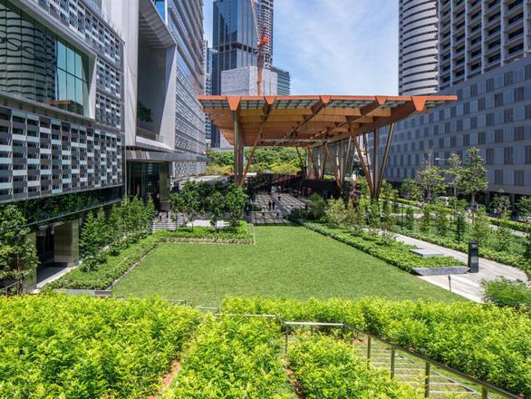 Bên trong tòa nhà cao nhất Singapore có bể bơi vô cực nhìn toàn cảnh thành phố - Ảnh 6.