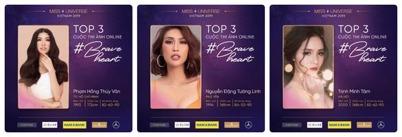 Thúy Vân chiến thắng tại cuộc thi ảnh Miss Universe Online - Ảnh 1.