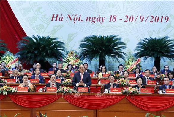 Khai mạc Đại hội Mặt trận Tổ quốc Việt Nam lần IX - Ảnh 1.