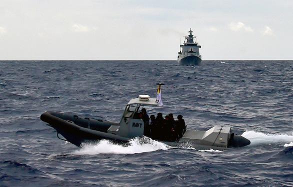Mỹ - ASEAN diễn tập hải quân chung - Ảnh 1.