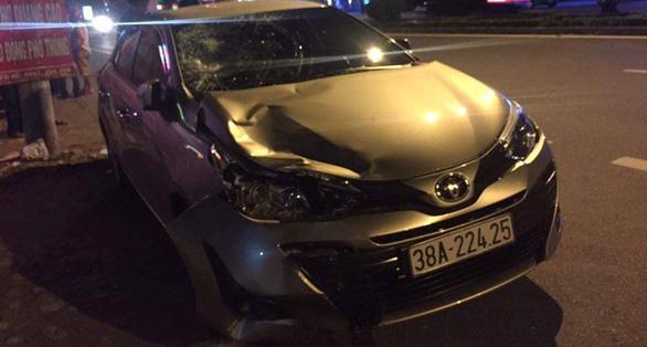 Có hơi men, chủ nhiệm Ủy ban kiểm tra đảng ủy khối lái ôtô gây chết người - Ảnh 1.