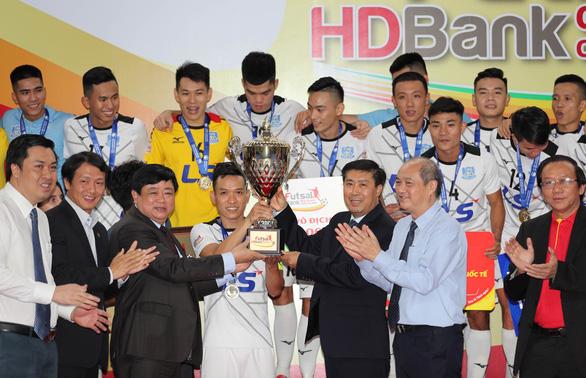 Giải futsal HDBank VĐQG ngày càng thu hút khán giả - Ảnh 1.
