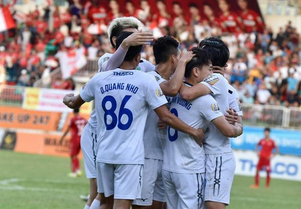 Hoàng Anh Gia Lai thắng Hải Phòng 5-1 trên sân Pleiku - Ảnh 1.