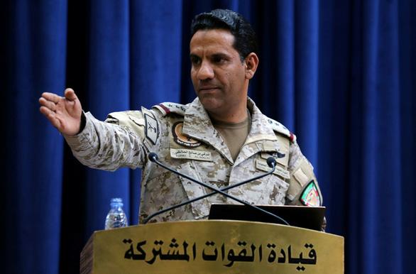 Liên quân Saudi Arabia không kích Yemen - Ảnh 1.