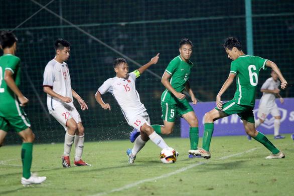 Thắng Macau 6-0, U16 Việt Nam hơn Úc 10 bàn trước trận quyết chiến - Ảnh 1.