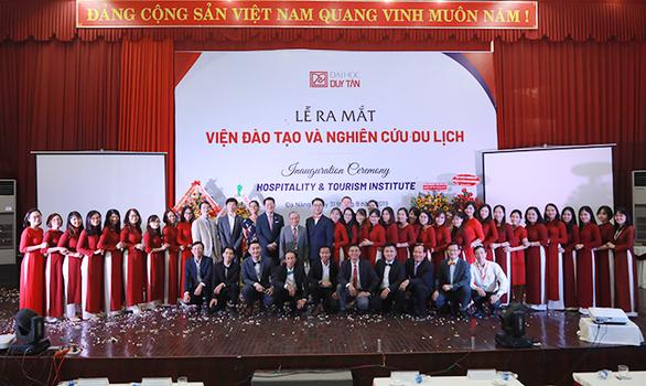 ĐH Duy Tân thành lập Viện đào tạo và nghiên cứu du lịch - Ảnh 3.