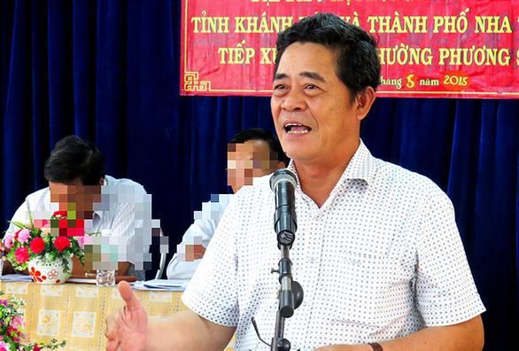 Bí thư Tỉnh ủy Khánh Hòa xin nghỉ hưu khi đang bị xem xét kỷ luật - Ảnh 1.