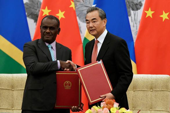 Solomon, Kiribati khẳng định bỏ Đài Loan theo Trung Quốc là vì lợi ích quốc gia - Ảnh 1.