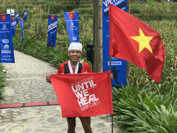 Nguyễn Tiến Hùng vô địch cự ly 100km tại giải marathon leo núi Sa Pa - Ảnh 1.