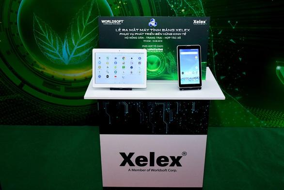 Xelex - Máy tính bảng phục vụ cho nền nông nghiệp Việt Nam - Ảnh 3.