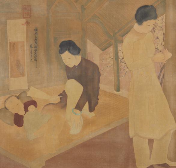 Nhà đấu giá quốc tế rút tranh của họa sĩ Việt Nam - Ảnh 1.