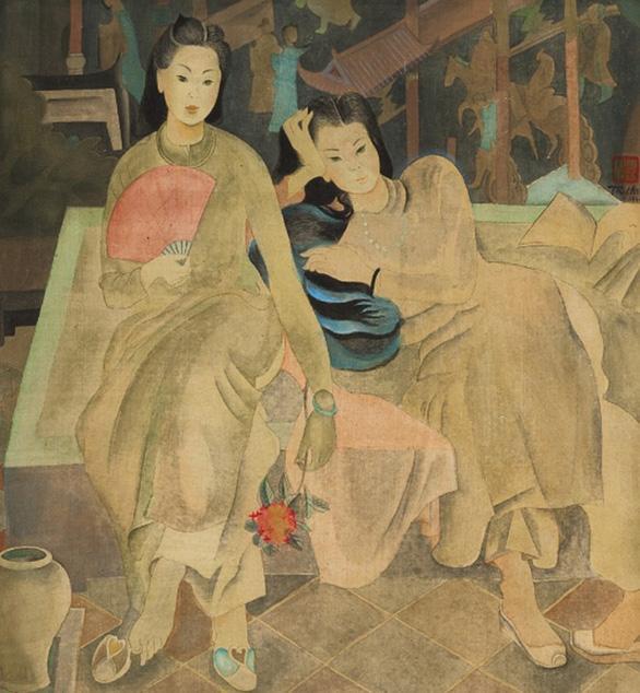 Nhà đấu giá quốc tế rút tranh của họa sĩ Việt Nam - Ảnh 2.