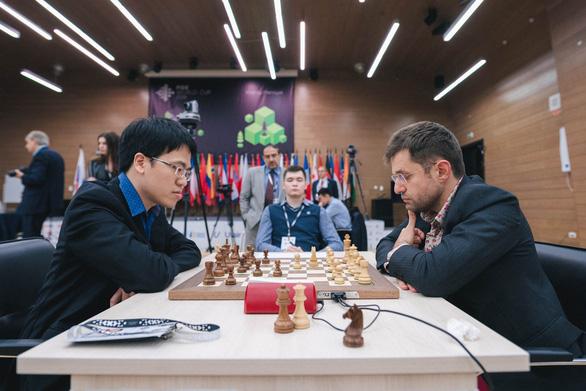 Lê Quang Liêm dừng chân ở vòng 4 World Cup cờ vua với 25.000 USD - Ảnh 1.