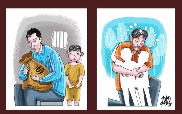 Hai người cha và chuyện nuôi con sau ly hôn ở tòa án - Ảnh 1.