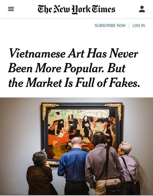 Thời kỳ tranh giả, tranh rởm Việt Nam bùng nổ? - Ảnh 1.
