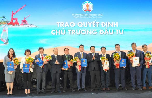 Nam Group được Bình Thuận trao quyết định chủ trương đầu tư dự án Thanh Long Bay - Ảnh 2.