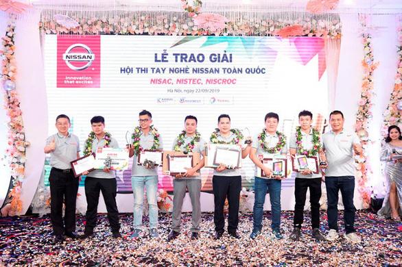 Nissan Việt Nam tổ chức Hội thi tay nghề năm 2019 - Ảnh 1.